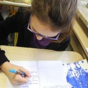 Kleksografia w klasie IVB_16