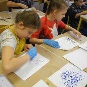Kleksografia w klasie IVB_5