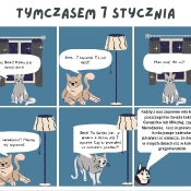 Komiksowa interpretacja historii kalendarza (27.11.2020)