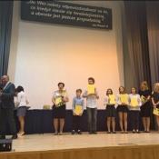 Laureaci konkursów na spotkaniu z prezydentem (29.05.2017)