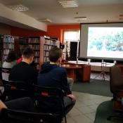 Legiony to żołnierska nuta - wykład dla uczniów w MBP (6.11.2018)