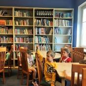 Lekcja biblioteczka w klasie 0B (10.06.2021)