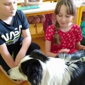 Lekcja z psem w 3c (16.06.2021)