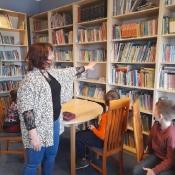 Lekcje biblioteczne w klasach 2 (31.03.2021)