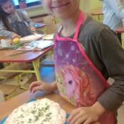 Mali kucharze z 3b przygotowują roladki