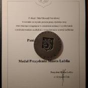 Medale dla nauczycieli z okazji Dnia Edukacji Narodowej (16.10.2018)