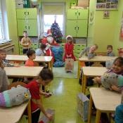 Mikołajki w klasach 1-3 (6.12.2018)