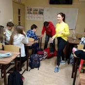 Mikołajki w klasach 4-8 (6.12.2018)