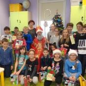 Mikołajki w naszej szkole (6.12.2016)