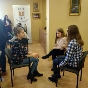 Młodzieżowe Warsztaty Dziennikarskie w TVP Lublin (9.04.2018)