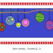 Motywy świąteczne w grafice komputerowej (grudzień 2020)