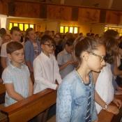 Msza święta na zakończenie roku szkolnego_14