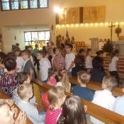 Msza święta na zakończenie roku szkolnego (21.06.2016)