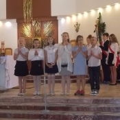 Msza święta na zakończenie roku szkolnego_9