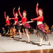 Na spektaklu baletowym