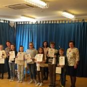 Nagrody i wyróżnienia dla uczniów klas 4-6 (12.04.2018)