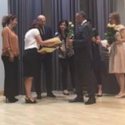 Najlepsi uczniowie nagrodzeni przez prezydenta Lublina (08.06.2016)
