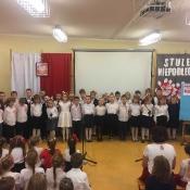 Narodowe Święto Niepodległości w klasach 1-3 (9.11.2018)