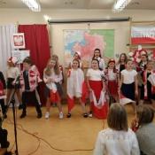 Narodowe Święto Niepodległości w klasach 4-6 (8.11.2019)