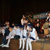 Pasowanie pierwszoklasistów na uczniów (28.10.2015)