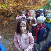 Pierwszaki w Botaniku (21.10.2019)