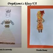 Piątoklasiści jako projektanci mody (5.11.2020)