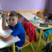 Poznajmy się! Pierwsze lekcje polskiego w 4c i 4a (4.09.2019)