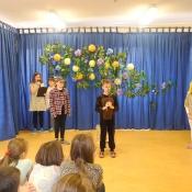Przedstawienie uczniów klasy IV A - 04.02.2016 r.