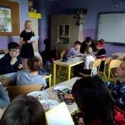 Setna lekcja języka polskiego w 6b (4.02.2019)