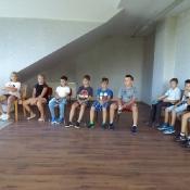 Spotkanie klasy 3a z pianistą (19.09.2018)