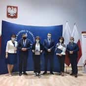 Spotkanie laureatów konkursów przedmiotowych z Ministrem Edukacji i Nauki oraz Lubelską Kurator Oświaty (11 i 17.06.2021)