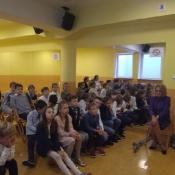 Spotkanie uczniów klas 3 ze świadkami historii (27.09.2019)