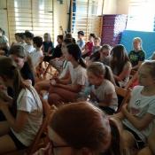 Spotkanie uczniów klas 5 z dietetykiem (22.05.2017)