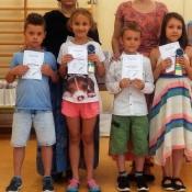 Szkolny apel dla klas 1-3 (20.06.2017)