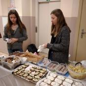 Szkolny kiermasz zdrowej żywności (listopad 2017)