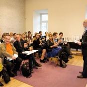 Uczniowie 7a na Miejskim Konkursie Recytatorskim (26.10.17)