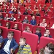 Uczniowie klas 0-3 w Bajkolandii (5.12.2017)