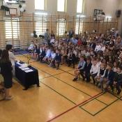 Uroczyste zakończenie roku szkolnego 2017 - 2018_1