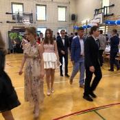 Uroczystość ukończenia szkoły przez uczniów klas 8 (19.06.2019)