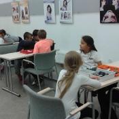 W świecie robotów - zajęcia z robotyki w klasie 3a (20.09.2016)
