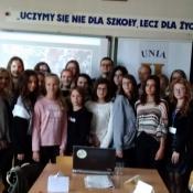 Warsztaty dziennikarskie w III LO (3.10.2018)