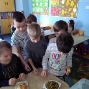 Warsztaty kulinarno-przyrodnicze w klasach 1 (04.2017)