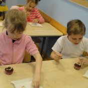 Warsztaty kulinarno-przyrodnicze w klasach 1 (3.03.2017)