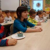 Warsztaty kulinarno-przyrodnicze w klasach 1 (9.12.2015)