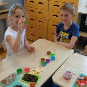Warsztaty mydlarskie w klasach 2 (01.06.2016)