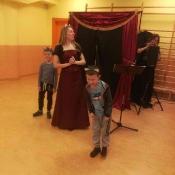 Warsztaty teatralno-muzyczne. Operetka w pierwszych klasach. 2019 r.