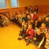 Warsztaty teatralno-muzyczne w klasie 1. Listopad z nutka patriotyzmu