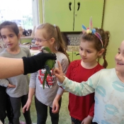 Warsztaty z papugą w Chrobrym - Klasy I A i I B - 2019 r._10