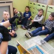 Warsztaty z papugą w Chrobrym - Klasy I A i I B - 2019 r._7