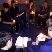 Wieczorek poetycki w klasie VIA